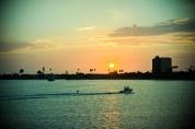 Sunset over Mission Bay